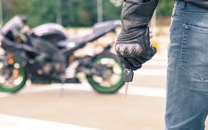 Кража мопеда или мотоцикла